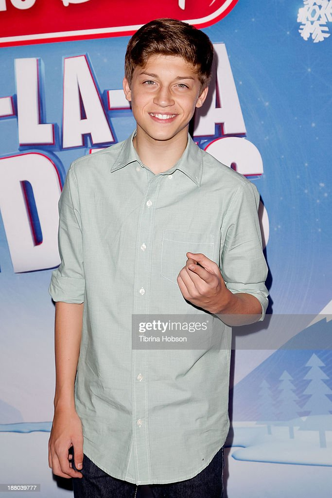 Ricky Garcia attends the tree lighting ceremony at Hollywood & Highland Center on November 14, 2013 in Hollywood, California.