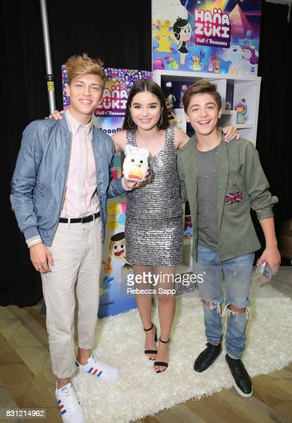 Ricky Garcia Landry Bender and Asher Angel at Backstage Creations Celebrity Retreat at Teen Choice 2017 Day 2 at Galen Center on August 13 2017 in...