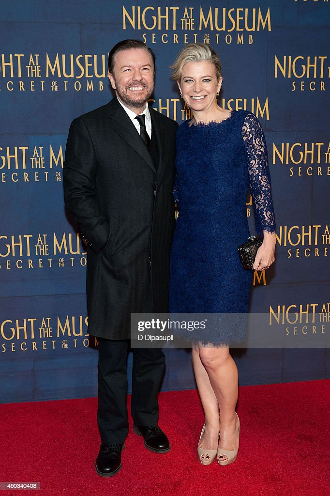 """""""Night At The Museum: Secret Of The Tomb"""" New York Premiere - Inside Arrivals"""