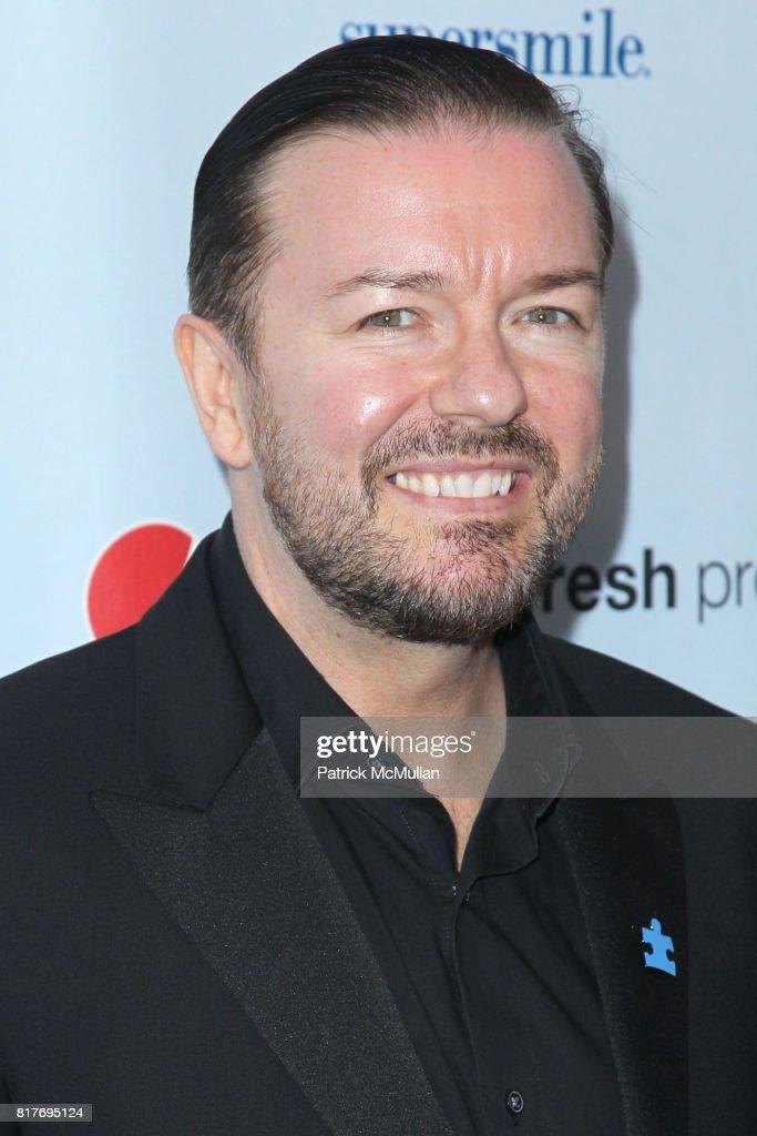 Ricky Gervais attends Jon Stewart Hosts
