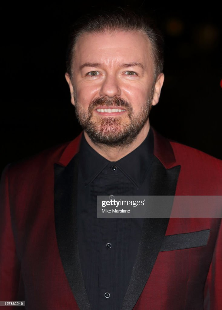 <a gi-track='captionPersonalityLinkClicked' href=/galleries/search?phrase=Ricky+Gervais&family=editorial&specificpeople=209237 ng-click='$event.stopPropagation()'>Ricky Gervais</a> attends the Sun Military Awards at Imperial War Museum on December 6, 2012 in London, England.