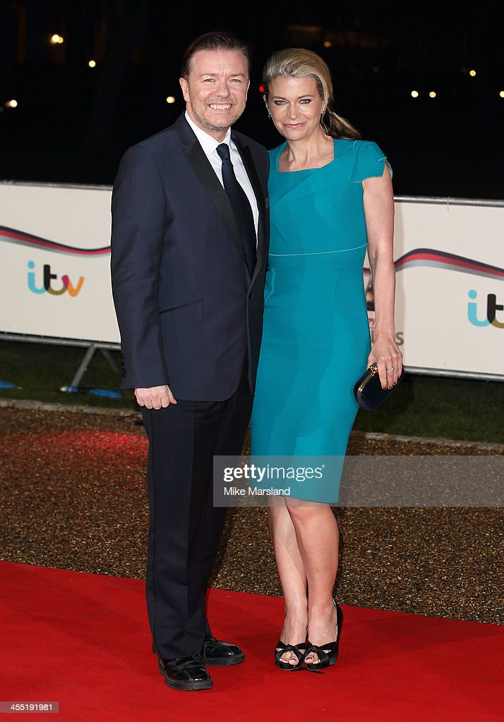 <a gi-track='captionPersonalityLinkClicked' href=/galleries/search?phrase=Ricky+Gervais&family=editorial&specificpeople=209237 ng-click='$event.stopPropagation()'>Ricky Gervais</a> attends The Sun Military Awards at National Maritime Museum on December 11, 2013 in London, England.