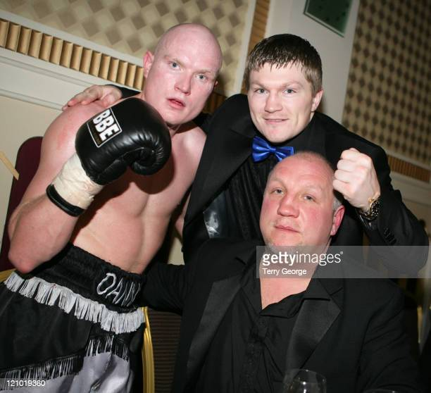 Ricky Hatton and Guests during Ricky Hatton at the Queens Hotel March 20 2006 at Queens Hotel in Leeds Great Britain
