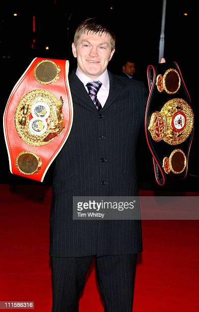Ricky Hatton during 2005 BBC Sports Personality of the Year at BBC Television Centre in London Great Britain