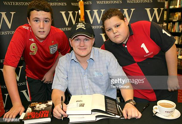 Ricky Hatton during Ricky Hatton Signs Copies of 'The Hitman' at Waterstones In Leeds at Waterstones in Leeds Great Britain