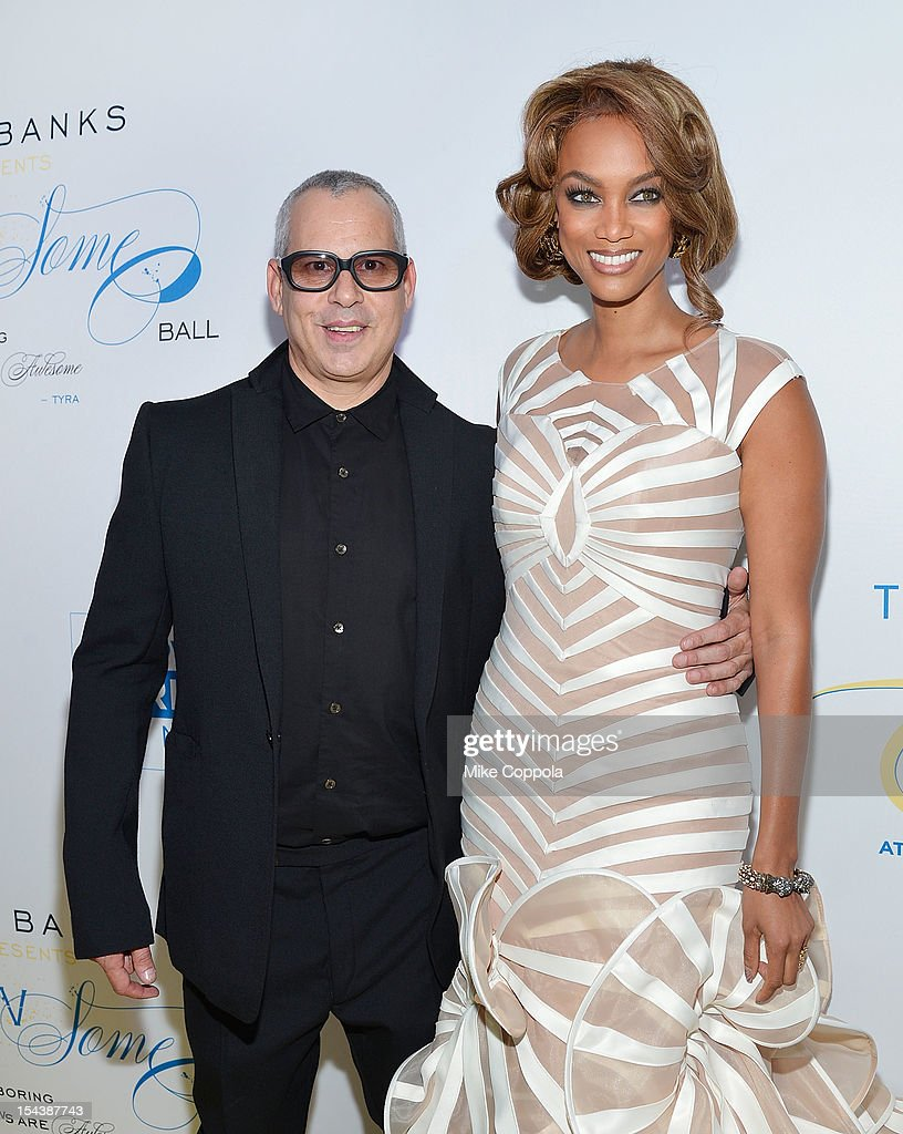 Ricky Kenig (L) and Tyra Banks attend The Flawsome Ball For The Tyra Banks TZONE at Capitale on October 18, 2012 in New York City.