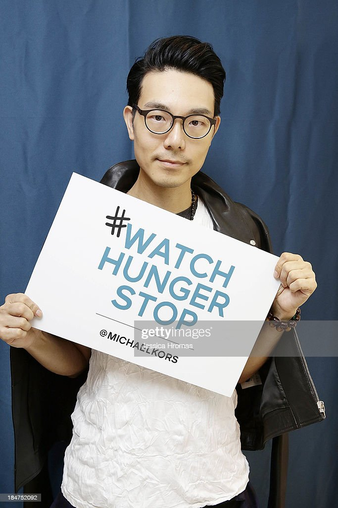 Ricky Kwok attends Michael Kors World Food Day -Hong Kong on October 16, 2013.