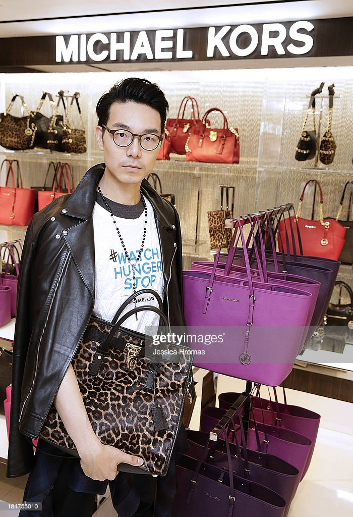 Ricky Kwok attends Michael Kors World Food Day - Hong Kong on October 16, 2013.