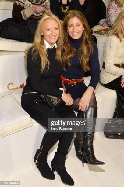 Ricky Lauren and Dylan Lauren attend the Ralph Lauren fashion show during MercedesBenz Fashion Week Fall 2014 at St John Center Studios on February...