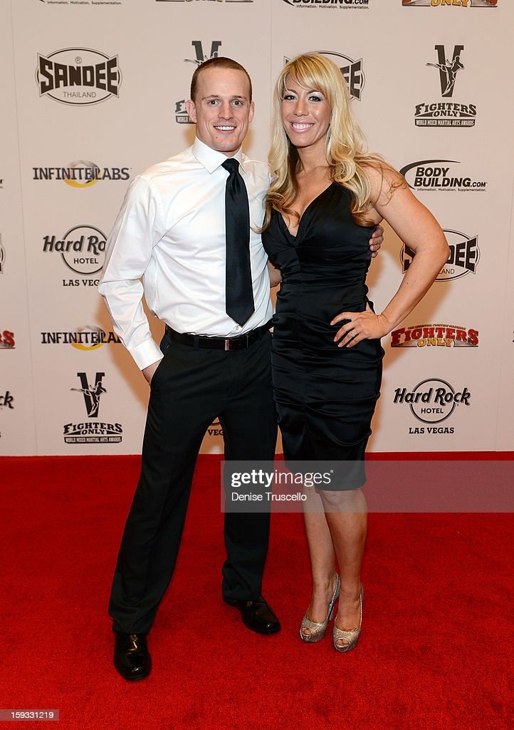 Ricky Lundell and Holly Lundell arrive at the Fighters Only World Mixed Martial Arts Awards 2013 at the Hard Rock Hotel & Casino on January 11, 2013 in Las Vegas, Nevada.