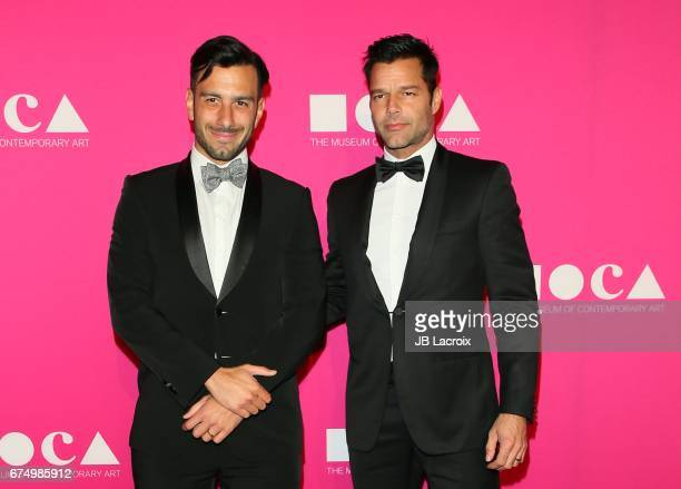 Ricky Martin and Jwan Yosef attend the MOCA Gala 2017 on April 29 2017 in Los Angeles California