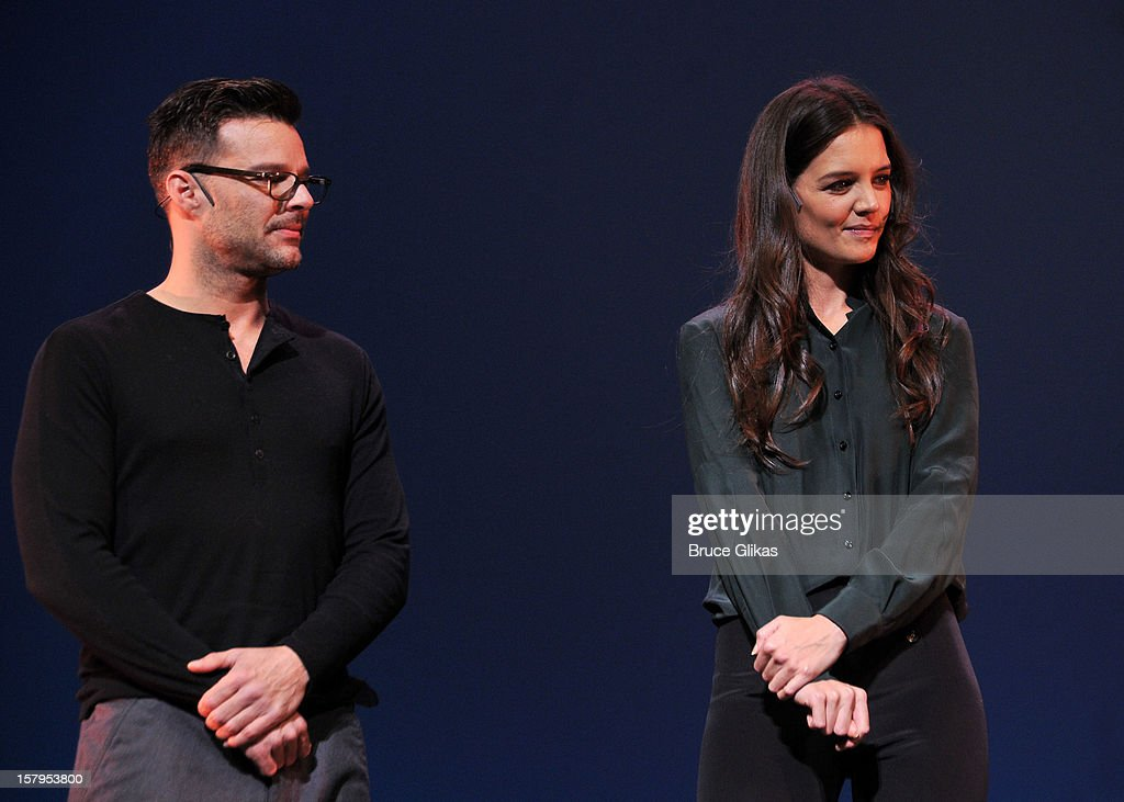 <a gi-track='captionPersonalityLinkClicked' href=/galleries/search?phrase=Ricky+Martin&family=editorial&specificpeople=160450 ng-click='$event.stopPropagation()'>Ricky Martin</a> and <a gi-track='captionPersonalityLinkClicked' href=/galleries/search?phrase=Katie+Holmes&family=editorial&specificpeople=201598 ng-click='$event.stopPropagation()'>Katie Holmes</a> host the 2012 Gypsy Of The Year Competition benefitting Broadway Cares Equity Fights AIDS at The New Amsterdam Theatre on December 7, 2012 in New York City.