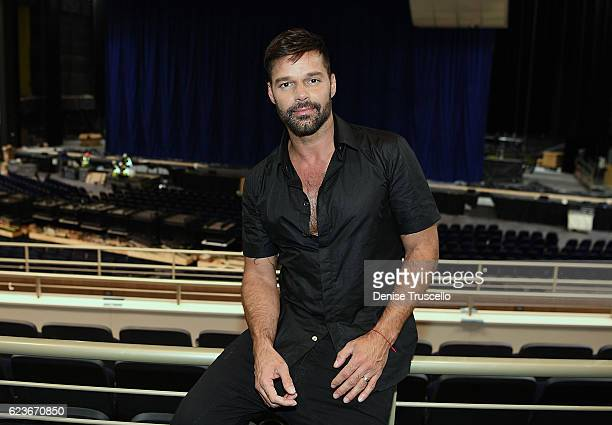 Ricky Martin announces his new Las Vegas headlining residency at The Park Theater at Monte Carlo on November 16 2016 in Las Vegas Nevada