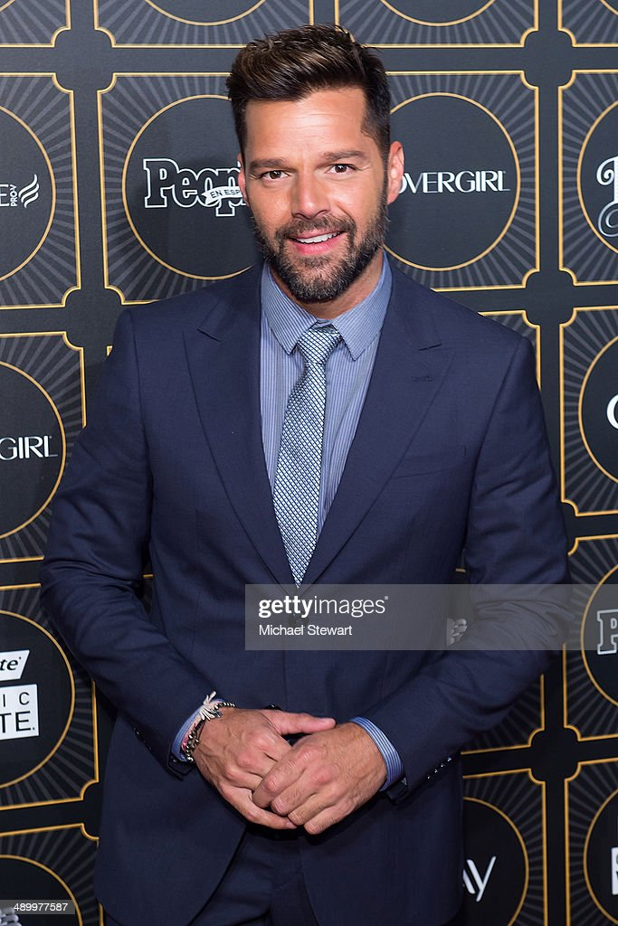 <a gi-track='captionPersonalityLinkClicked' href=/galleries/search?phrase=Ricky+Martin&family=editorial&specificpeople=160450 ng-click='$event.stopPropagation()'>Ricky Martin</a> attends People En Espanol 2014 Los 50 Mas Bellos Event at Capitale on May 12, 2014 in New York City.