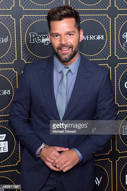 Ricky Martin attends People En Espanol 2014 Los 50 Mas Bellos Event at Capitale on May 12 2014 in New York City
