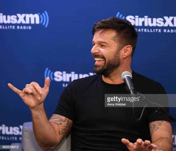 Ricky Martin attends SiriusXM's 'Town Hall' With Ricky Martin 'Town Hall' To Air On Andy Cohen's Exclusive SiriusXM Channel Radio Andy on February 15...