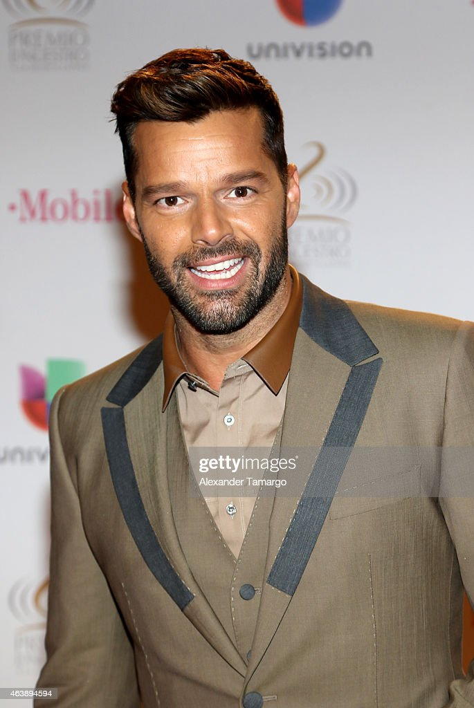 <a gi-track='captionPersonalityLinkClicked' href=/galleries/search?phrase=Ricky+Martin&family=editorial&specificpeople=160450 ng-click='$event.stopPropagation()'>Ricky Martin</a> attends the 2015 Premios Lo Nuestros Awards at American Airlines Arena on February 19, 2015 in Miami, Florida.