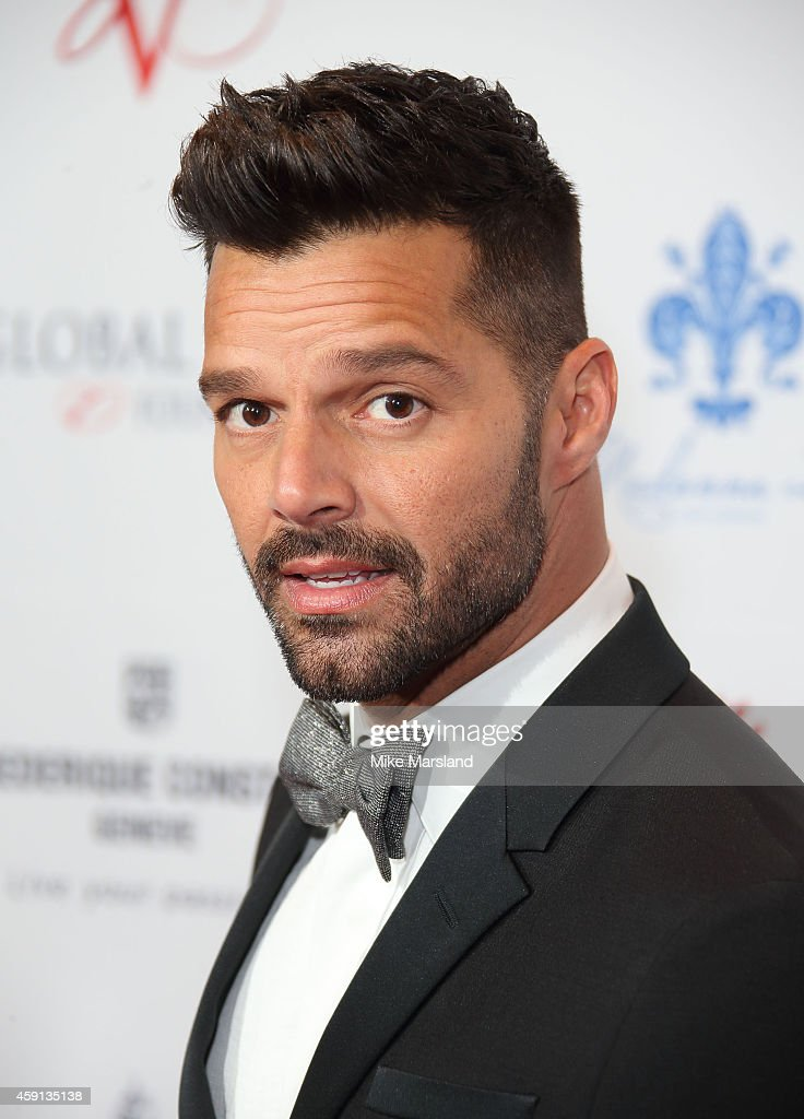 <a gi-track='captionPersonalityLinkClicked' href=/galleries/search?phrase=Ricky+Martin&family=editorial&specificpeople=160450 ng-click='$event.stopPropagation()'>Ricky Martin</a> attends the Global Gift Gala at Four Seasons Hotel on November 17, 2014 in London, England.