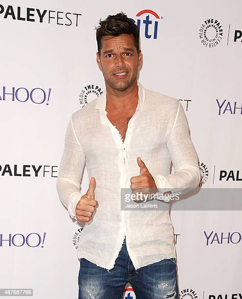 Ricky Martin attends the The Paley Center for Media's PaleyFest 2015 fall TV preview event for Univision at The Paley Center for Media on September...