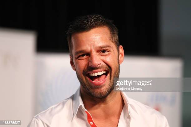 Ricky Martin during a promotion for his Greatest hits release at Westfield Paramatta on May 9 2013 in Sydney Australia