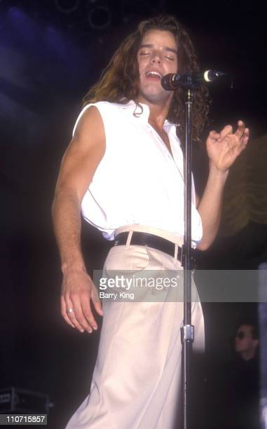 Ricky Martin during Ricky Martin Concert February 6 1994 at Universal Amphitheater in Universal City CA United States