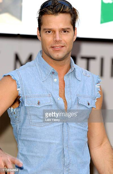 Ricky Martin during Ricky Martin European Promo Tour of His New Album 'Almas Del Silencio' Madrid at El Corte Ingles Store in Madrid Spain