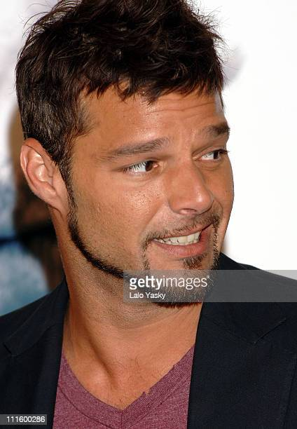 Ricky Martin during Ricky Martin Launches 2006 Summer Tour in Madrid at Hesperia Hotel in Madrid Spain