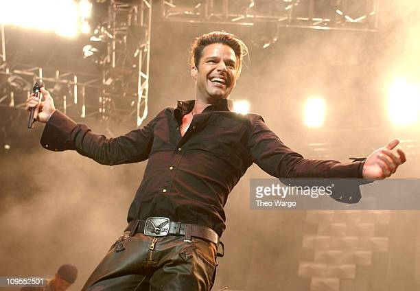 Ricky Martin during 'SBS 20th Anniversary Concert' Presented by The Amour 931 and Mega 979 at Madison Square Garden in New York City New York United...