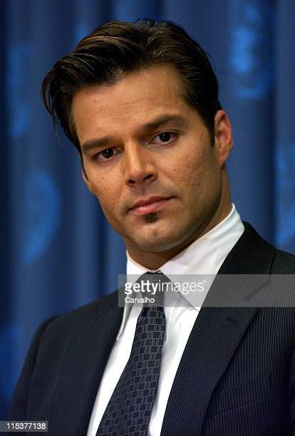 Ricky Martin during The United States and Ricky Martin Join Forces to Fight for Vulnerable Children at The United Nations General Assembly at United...