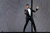 Ricky Martin Performs in Concert in Santiago de...