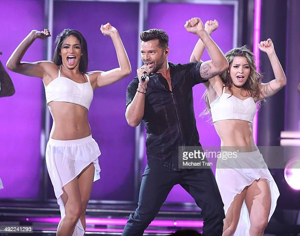 Ricky Martin performs onstage during the 2014 Billboard Music Awards held at MGM Grand Garden Arena on May 18 2014 in Las Vegas Nevada