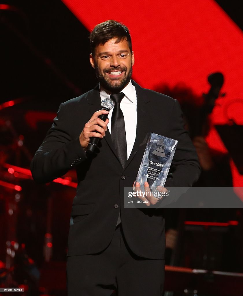 Ricky Martin performs onstage during the 2016 Person of the Year honoring Marc Anthony at the MGM Grand Garden Arena on November 16, 2016 in Las Vegas, Nevada.