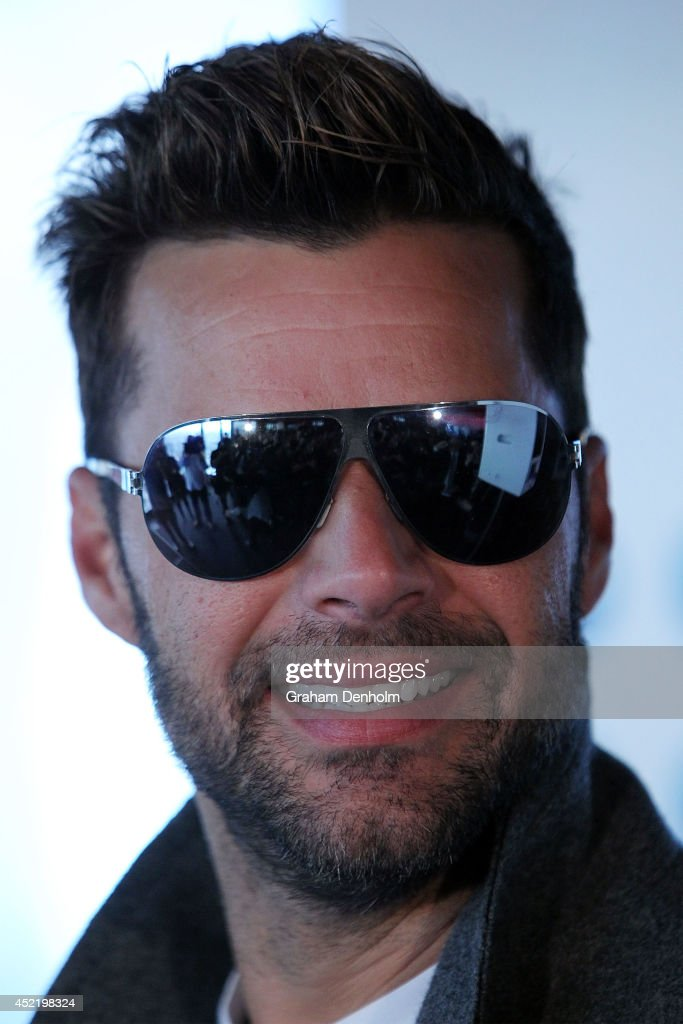 <a gi-track='captionPersonalityLinkClicked' href=/galleries/search?phrase=Ricky+Martin&family=editorial&specificpeople=160450 ng-click='$event.stopPropagation()'>Ricky Martin</a> smiles at a Grand Finale event held at Eureka Tower on July 16, 2014 in Melbourne, Australia.
