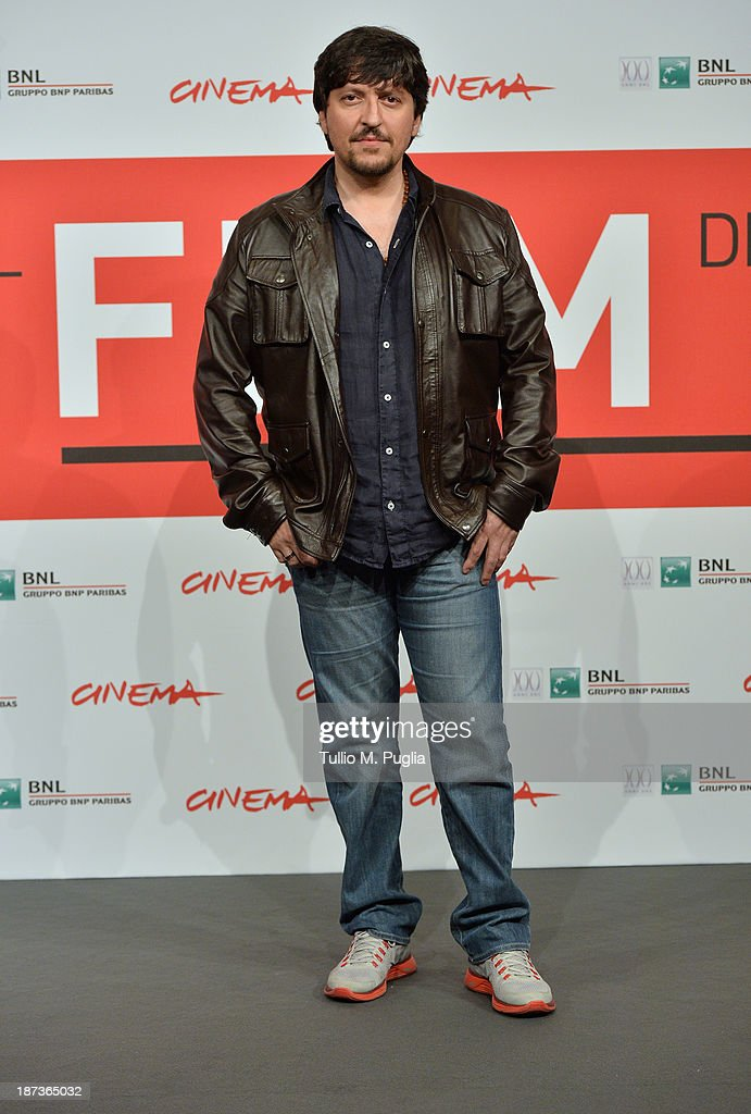Ricky Memphis attends the 'L'Ultima Ruota Del Carro' Photocall during the 8th Rome Film Festival at the Auditorium Parco Della Musica on November 8, 2013 in Rome, Italy.