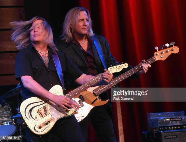 Ricky Nelson Remembered staring his twin sons Gunnar Nelson and Matthew Nelson perform at City Winery Nashville on July 30 2017 in Nashville Tennessee