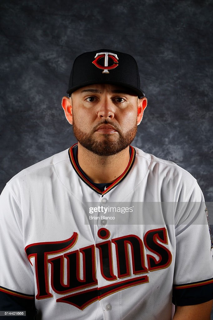 <a gi-track='captionPersonalityLinkClicked' href=/galleries/search?phrase=Ricky+Nolasco&family=editorial&specificpeople=600111 ng-click='$event.stopPropagation()'>Ricky Nolasco</a> #47 of the Minnesota Twins poses for a photo during the Twins' photo day on March 1, 2016 at Hammond Stadium in Ft. Myers, Florida.