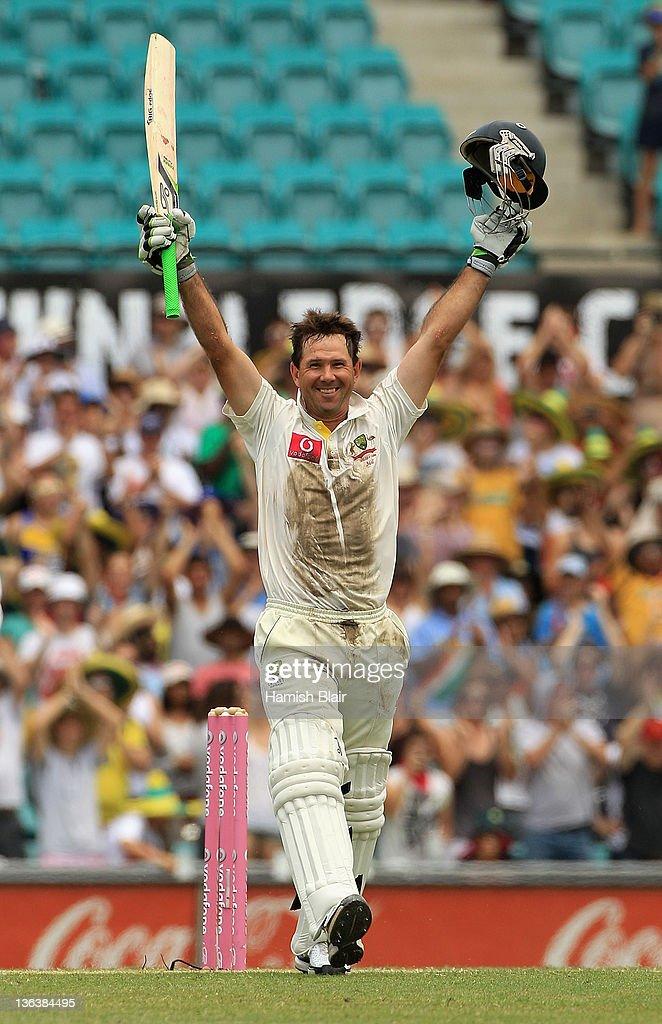 Australia v India - Second Test: Day 2