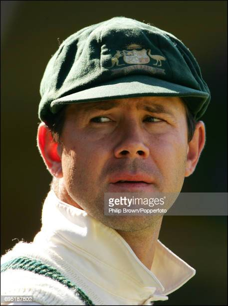 Ricky Ponting of Australia during day two of the Tour Match between Northamptonshire and Australia played at the County Ground in Northampton on...