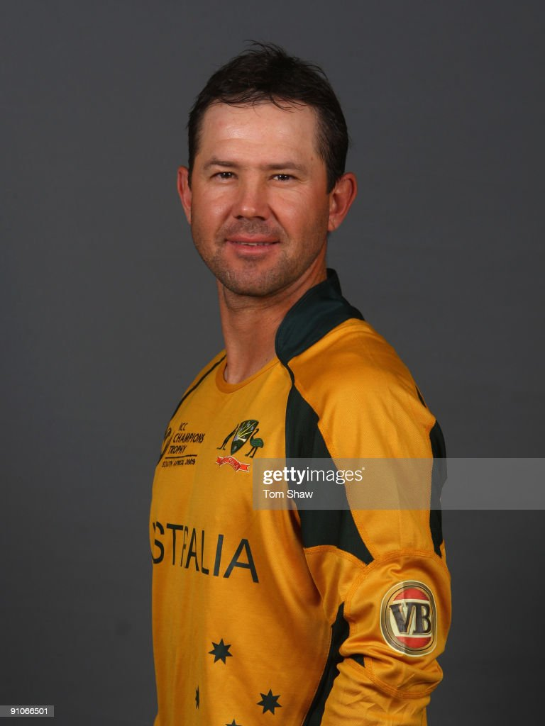<a gi-track='captionPersonalityLinkClicked' href=/galleries/search?phrase=Ricky+Ponting&family=editorial&specificpeople=176564 ng-click='$event.stopPropagation()'>Ricky Ponting</a> of Australia poses during the Australian team portrait session on September 23, 2009 in Johannesburg, South Africa.