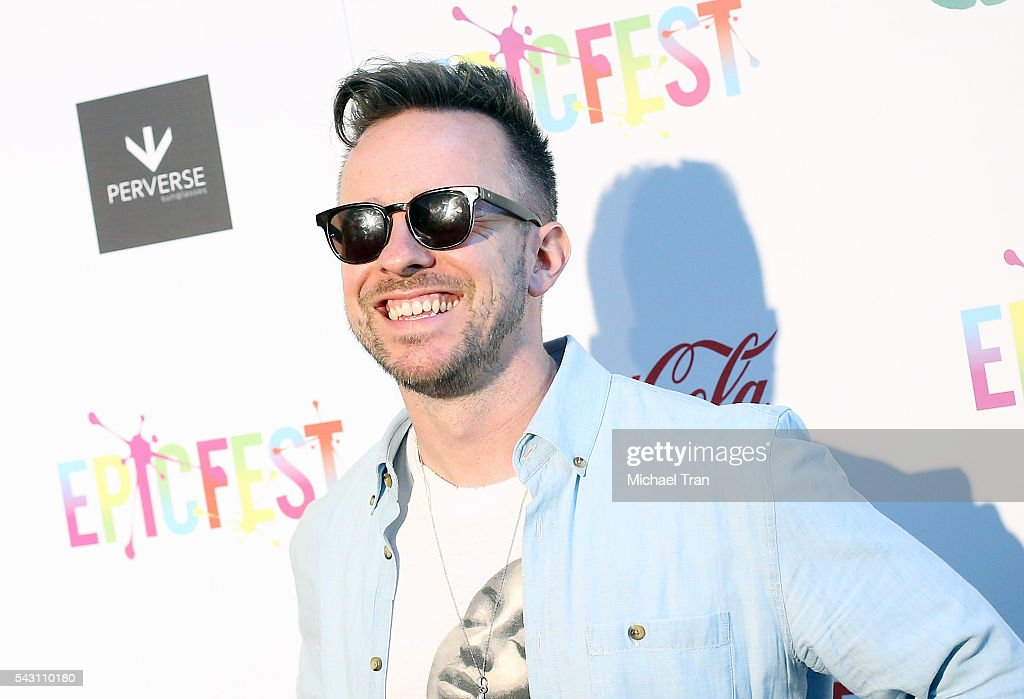 Ricky Reed arrives at the 2nd Annual Epic Fest held at Sony Pictures Studios on June 25, 2016 in Culver City, California.