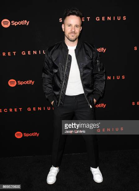 Ricky Reed attends Spotify's inaugural Secret Genius Awards at Vibiana Cathedral on November 1 2017 in Los Angeles California