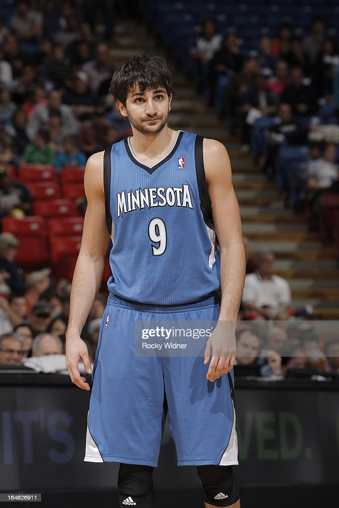 <a gi-track='captionPersonalityLinkClicked' href=/galleries/search?phrase=Ricky+Rubio&family=editorial&specificpeople=4028920 ng-click='$event.stopPropagation()'>Ricky Rubio</a> #9 of the Minnesota Timberwolves in a game against the Sacramento Kings on March 21, 2013 at Sleep Train Arena in Sacramento, California.