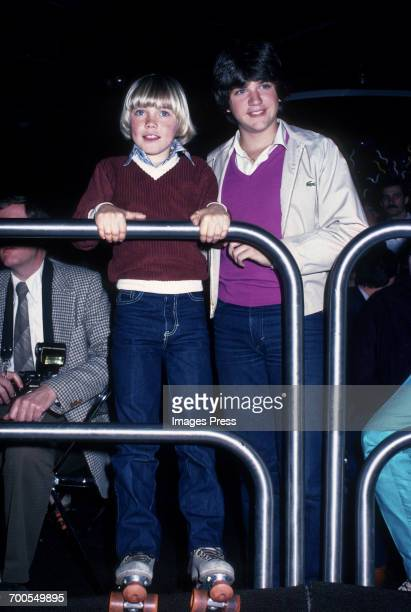 Ricky Schroder and Jimmy Baio at a roller disco circa 1980 in New York City