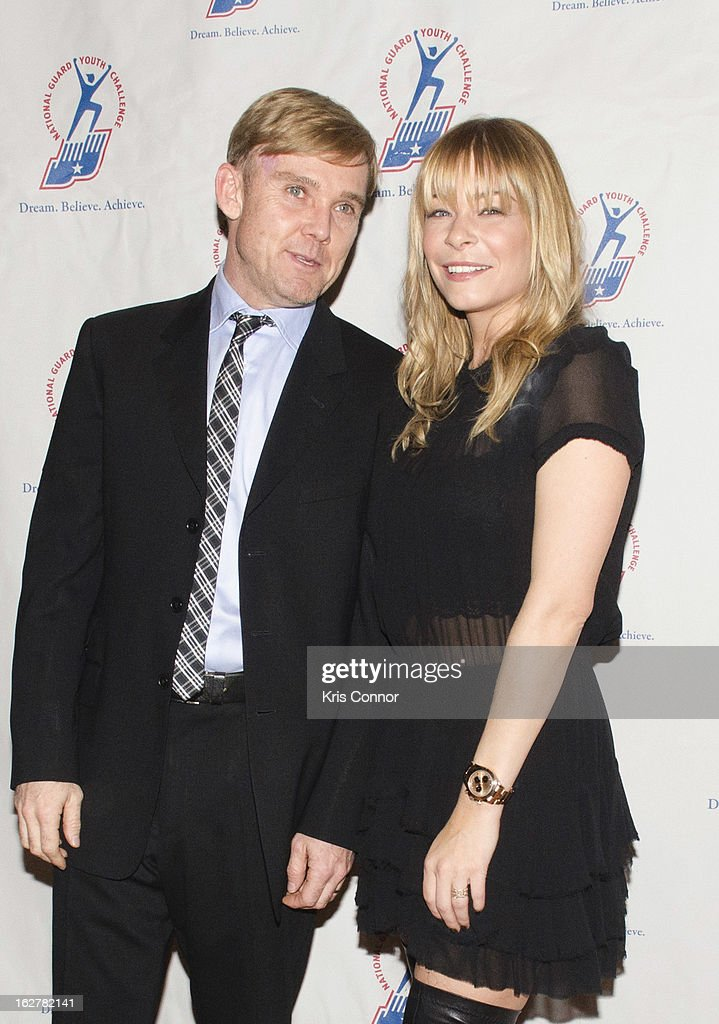 Ricky Schroder and LeAnn Rimes attend the 2013 ChalleNGe Champions Gala at JW Marriott Hotel on February 26, 2013 in Washington, DC.
