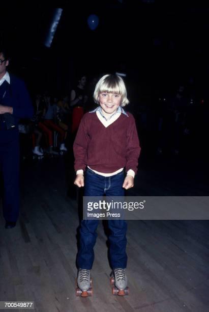 Ricky Schroder at a roller disco circa 1980 in New York City