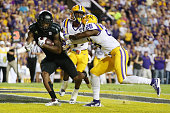 Ricky SealsJones of the Texas AM Aggies scores a touchdown against the LSU Tigers at Tiger Stadium on November 28 2015 in Baton Rouge Louisiana