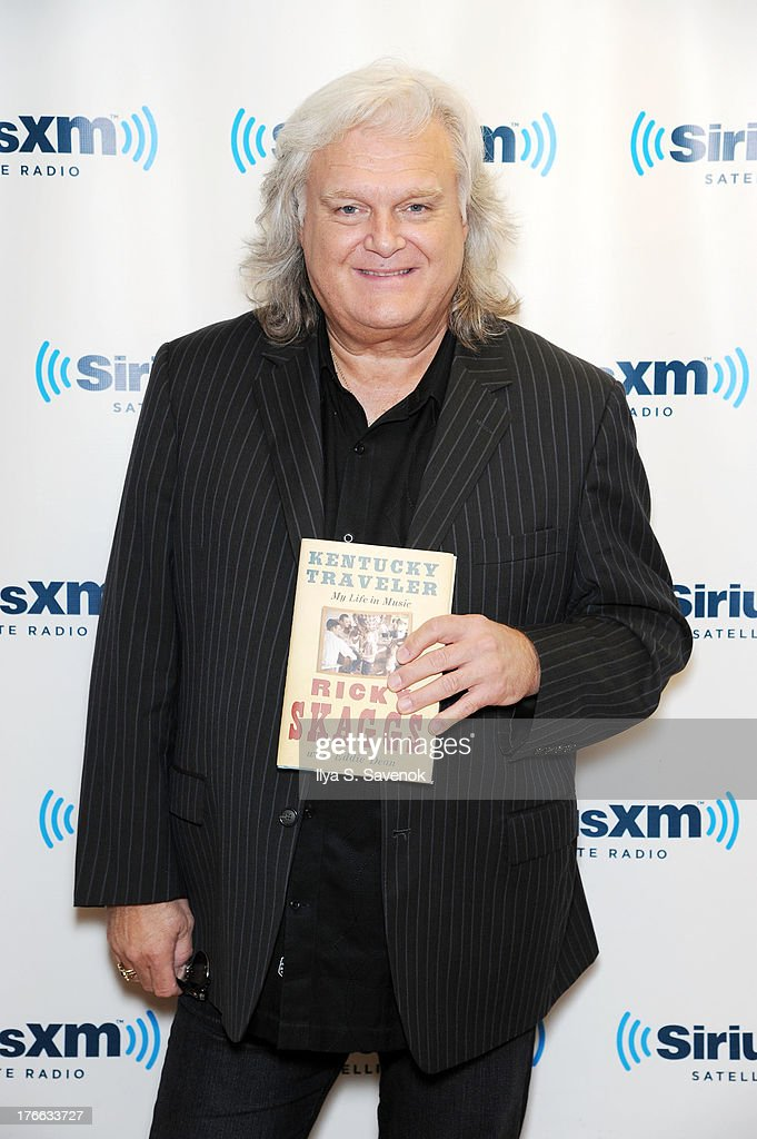 <a gi-track='captionPersonalityLinkClicked' href=/galleries/search?phrase=Ricky+Skaggs&family=editorial&specificpeople=2134089 ng-click='$event.stopPropagation()'>Ricky Skaggs</a> visits SiriusXM Studios on August 16, 2013 in New York City.