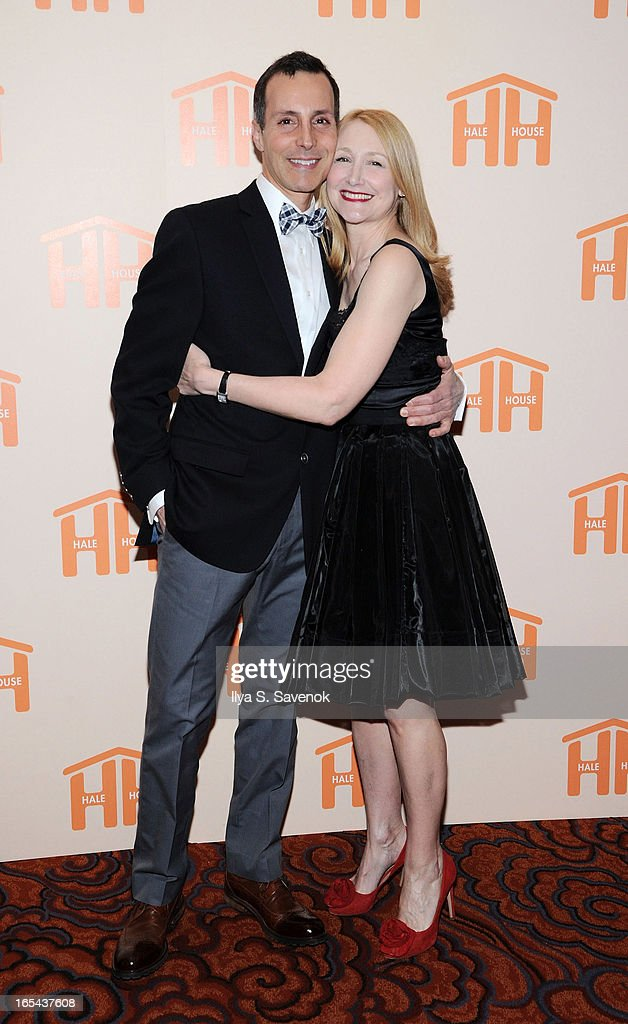 Ricky Trabucco and <a gi-track='captionPersonalityLinkClicked' href=/galleries/search?phrase=Patricia+Clarkson&family=editorial&specificpeople=202994 ng-click='$event.stopPropagation()'>Patricia Clarkson</a> attend The 2013 Hale House Spring Gala at Mandarin Oriental Hotel on April 3, 2013 in New York City.