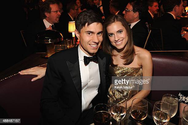 Ricky Van Veen and Allison Williams attend Spike TV's 'Don Rickles One Night Only' on May 6 2014 in New York City