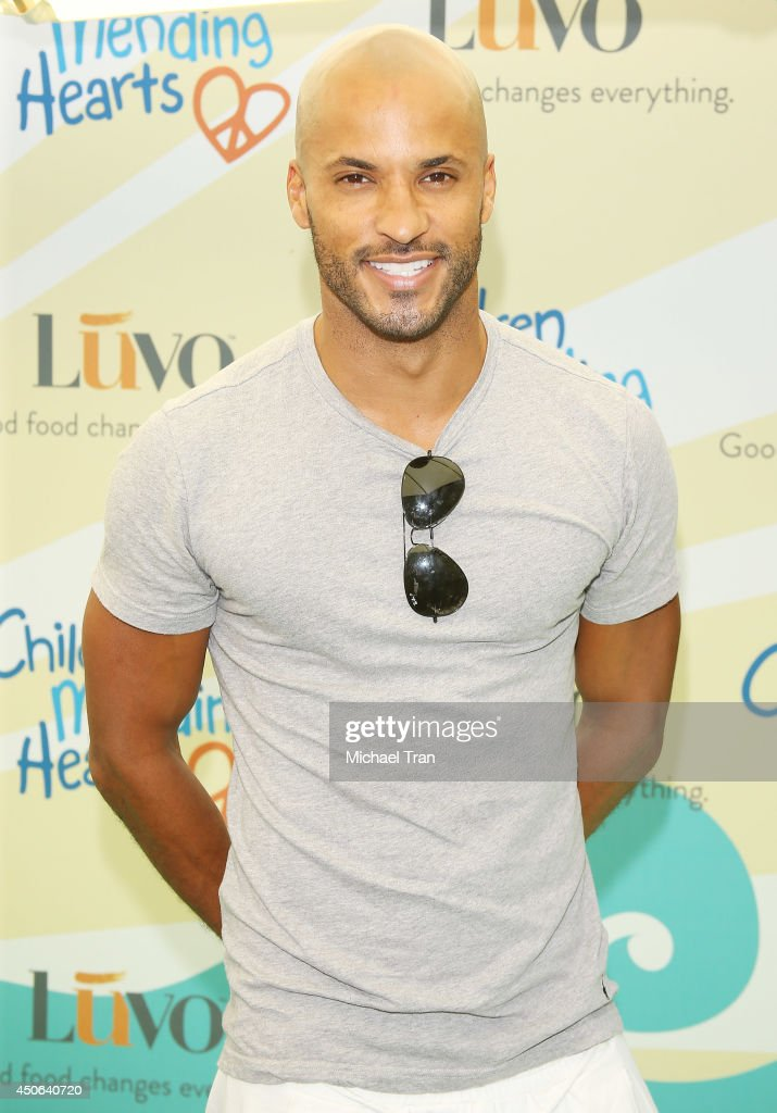 Ricky Whittle arrives at the Children Mending Hearts's 6th Annual Fundraiser 'Empathy Rocks A Spring Into Summer Bash' held at a private residence on...